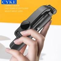 cyke l11 wireless bluetooths 3 in 1 mini selfie stick tripod expandable monopod baseus stabilizer for gopro androidios phone