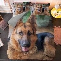 german shepherd bedding sets single twin queen king size quilt duvet cover set with pillowcase 23 pcs bedclothes customize