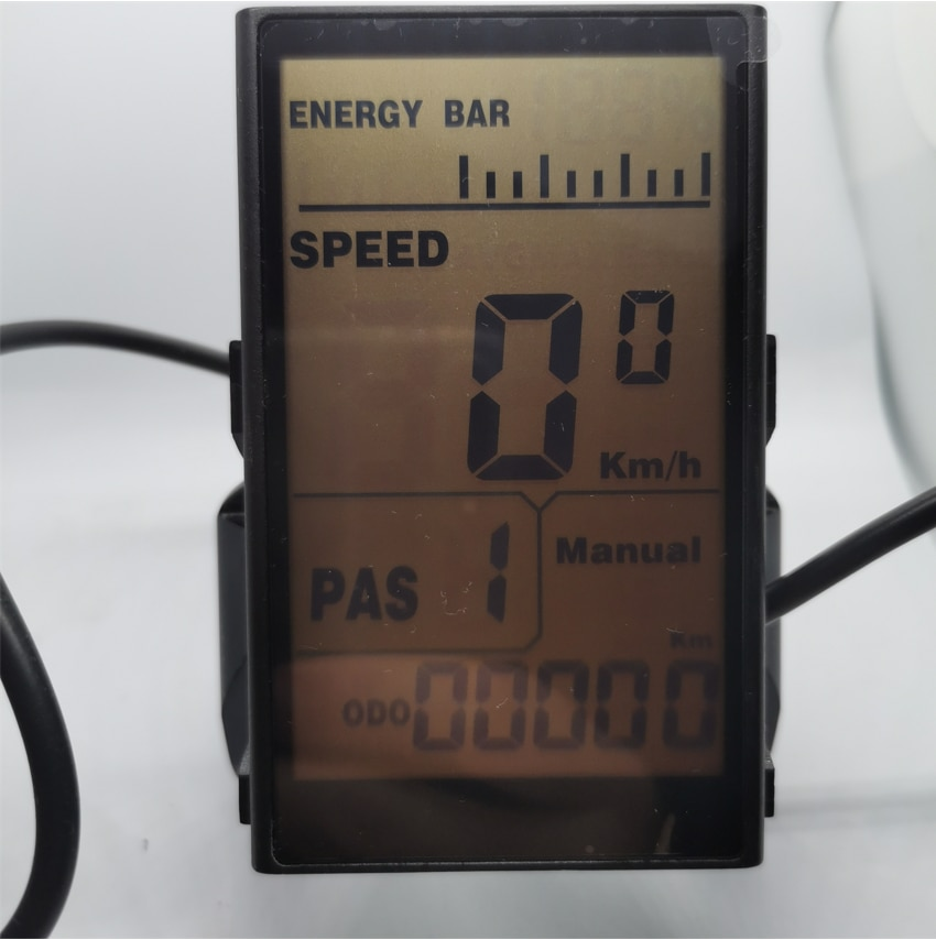 KING-METER NOKEE-شاشة LCD للدراجة الكهربائية ، لوحة كمبيوتر رقمية ، عداد السرعة 24 فولت 36 فولت 48 فولت
