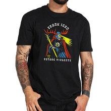 Frank Iero Tshirt En De Toekomst Violents T-shirt Ritme Gitarist Eu Size 100% Katoen Crew Hals Basic Zwarte Tee tops