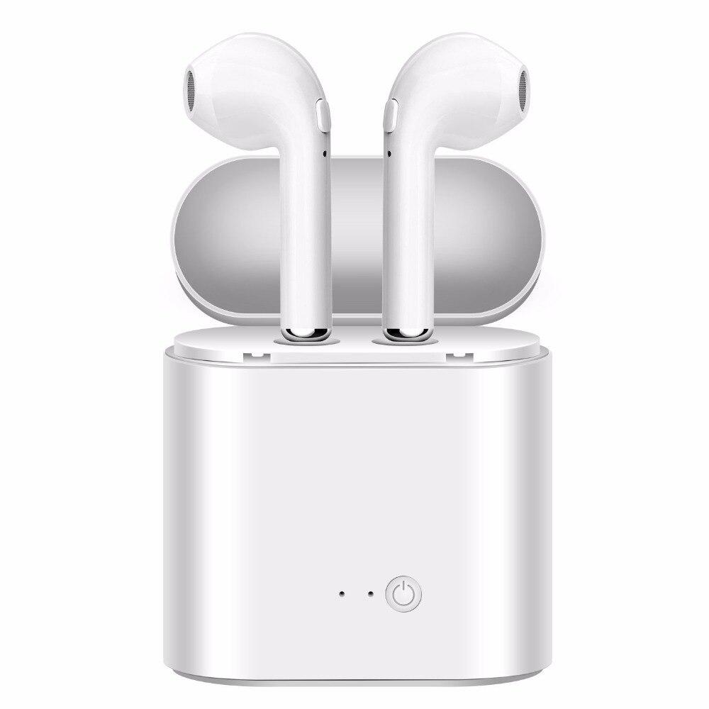 I7s Tws auriculares inalámbricos Bluetooth auriculares manos libres auriculares deportivos con caja de carga para teléfono inteligente xiaomi