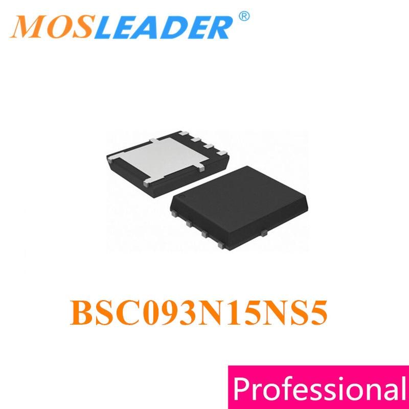 Mosleader BSC093N15NS5 TDSON8 50 قطعة QFN8 N-قناة 150 فولت 87A السائبة جديد مجدد جودة عالية الأصلي