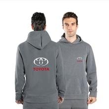 2021 New TOYOTA Logo Men Hoodies Hot Sale Spring And Autumn Casual Pattern Sweatshirt Cotton Fashion