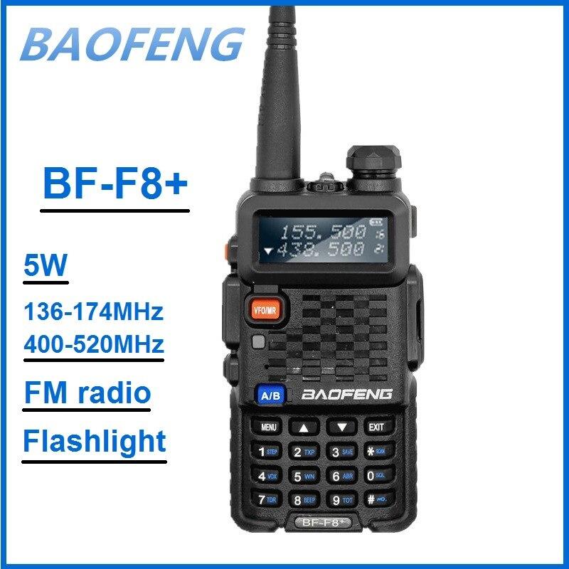 BAOFENG BF-F8 هام CB راديو الارسال VHF UHF اسلكية تخاطب تحديث UV-5R زائد الهواة راديو FM جهاز الإرسال والاستقبال BAOFENG F8