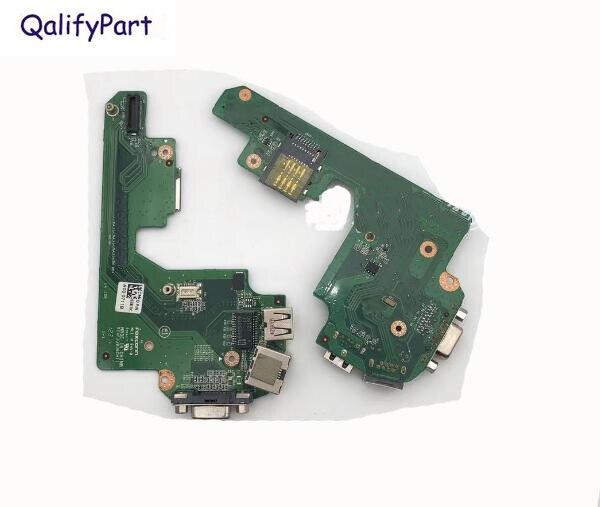 كمبيوتر محمول أصلي USB VGA Lan لوحة لأجهزة الكمبيوتر المحمول DELL Latitude E5420