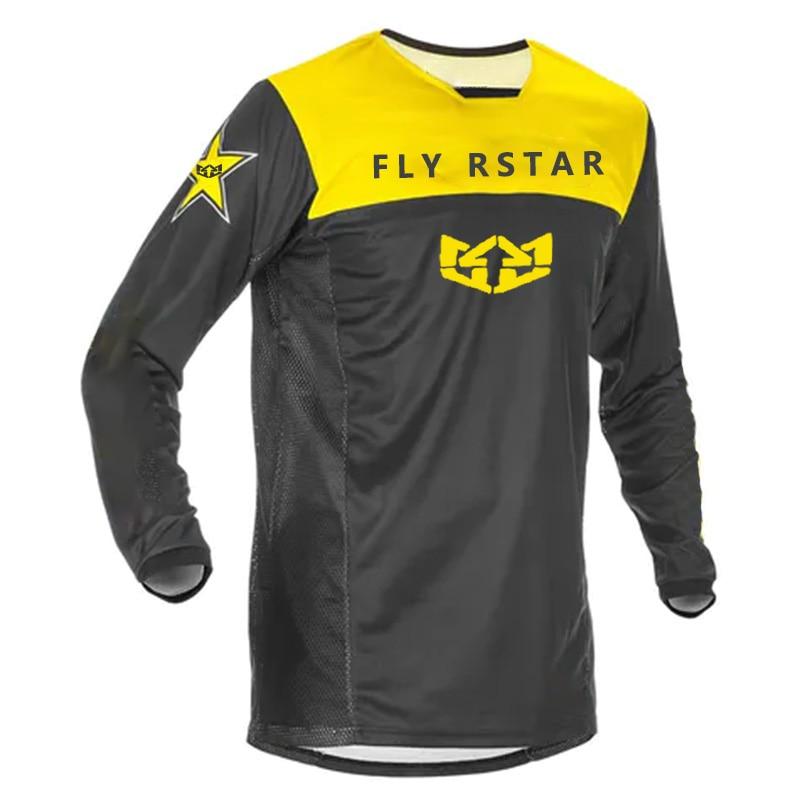 Motocross Jersey Mtb Jersey Lange Mouw Mannen Shirt Motorfiets Moto Enduro Shirts Voor Mannen