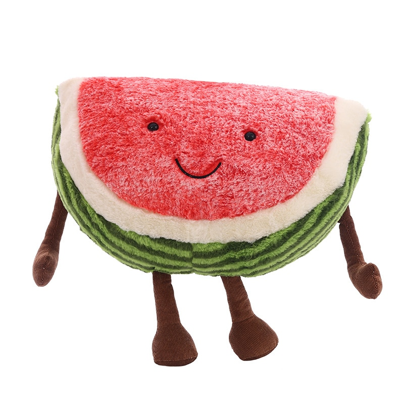 slimecicle plush toy cute animal stuffed soft slimecicle doll cartoon figure game toys for children kids birthday gifts 20cm 30CM Cute Watermelon Plush Toys Doll Stuffed Plant Cushions Kawaii Cartoon Fruits Pillow Soft Toy for Children Birthday Gifts