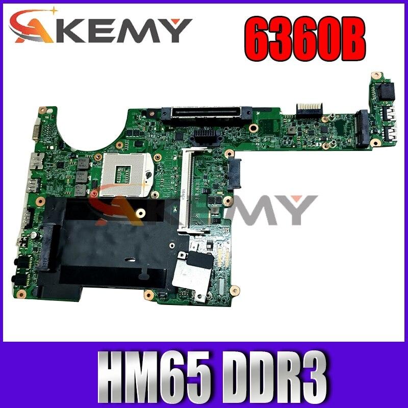 AKemy641733-001 643216-001 ل hp probook 6360B 48.4KT01.021 اللوحة المحمول HM65 DDR3