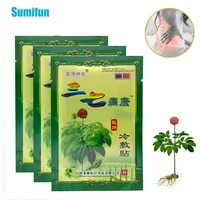 8pcs panax notoginseng herbal extract pain relief patch muscle back neck aches muscular fatigue arthritis stickers body relax