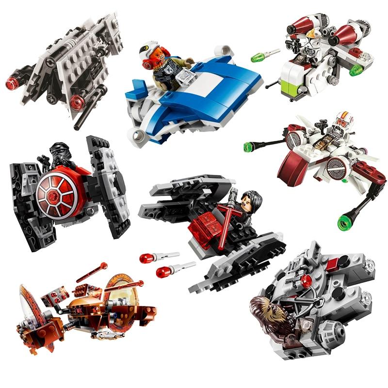New Star Wars Solo Story Moloch's Land Speeder Building Blocks Kit Bricks Set Classic Movie Lepining Toys Children Gift 75210