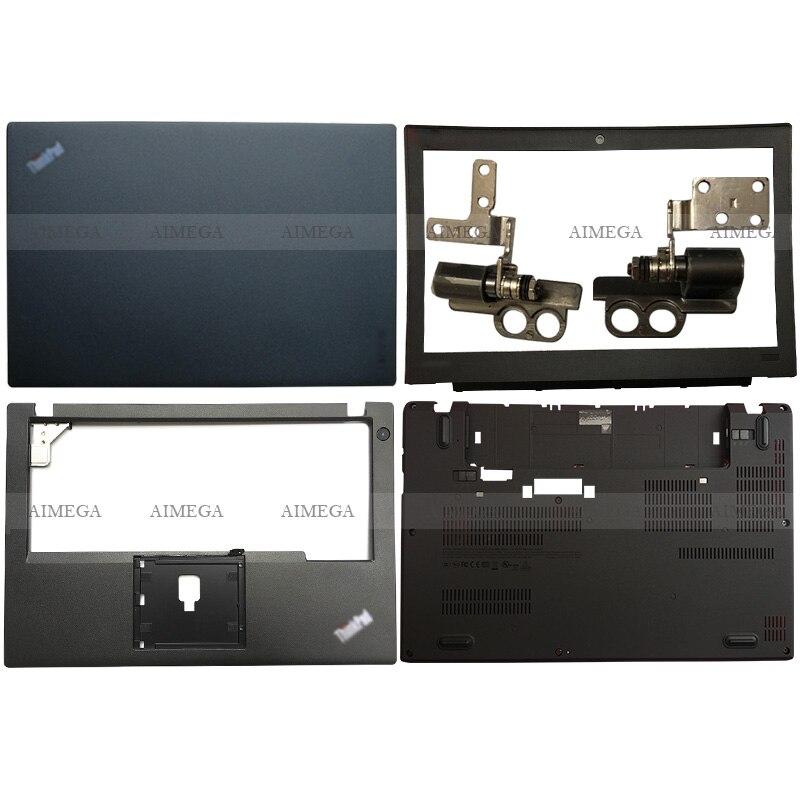 NEW For Lenovo ThinkPad X270 FHD High Resolution LCD Laptop LCD Back Cover/Front Bezel/Hinges/Palmrest/Bottom Case 01HW945