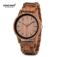 DODO DEER New Casual Fashion Quartz Watch Mens Montre Homme Wirstwatches Top Brand Luxury Clock Relogio Masculino Male OEM