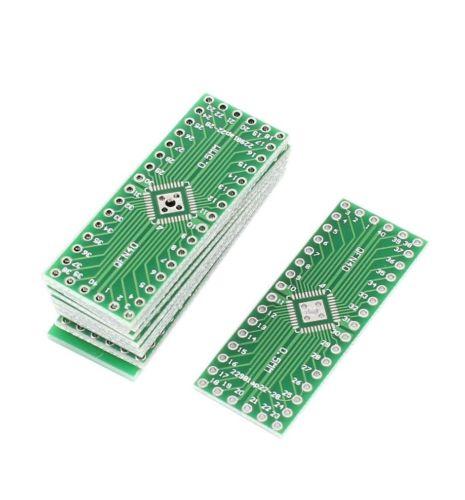 5 pcs QFN32 QFN40 to DIP 32/40 Adapter PCB Board Converter Double Sides diy electronics