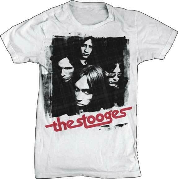 Футболка Stooges абсолютно новая Лицензированная музыка Igp 1002