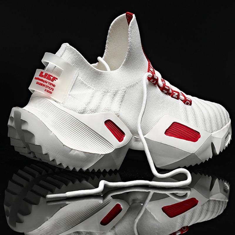 Damyuan-حذاء جري مسامي للرجال ، حذاء رياضي كاجوال خفيف الوزن ، مقاس 47 ، عصري ، 46 ، 2020