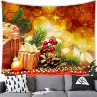 christmas tapestry wall hanging home party festival decor cartoon snowman gifts printed tapestry 200150cm art tapestry t0013