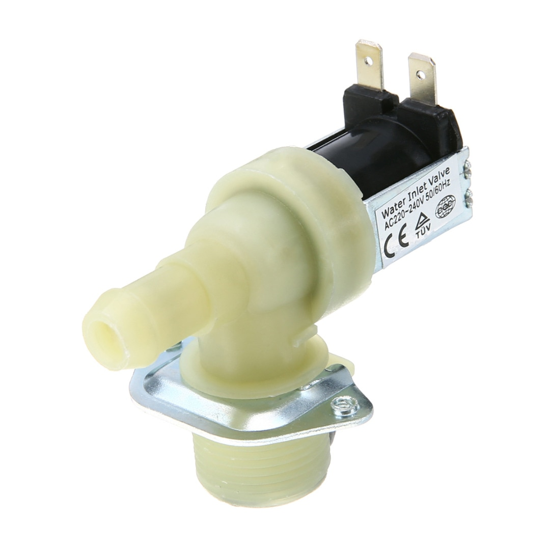 1pcs 3/4'' 12mm Spülmaschine Wasser Einlass Magnetventil Männlichen Verbinden gewinde Für Waschmaschine Reiniger AC 220V ~ 240V