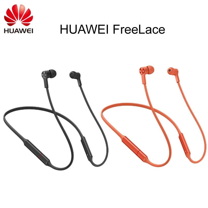 Huawei FreeLace Sport Earphone Bluetooth 5.0 wireless Headset Memory Cable Metal Cavity Liquid Silicon MAGNETIC SWITCH