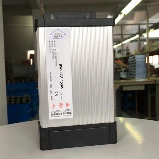 Светодиодный водонепроницаемый источник питания на открытом воздухе 400 Вт DC24V Светодиодный Драйвер Трансформаторы уровень защиты переменн...