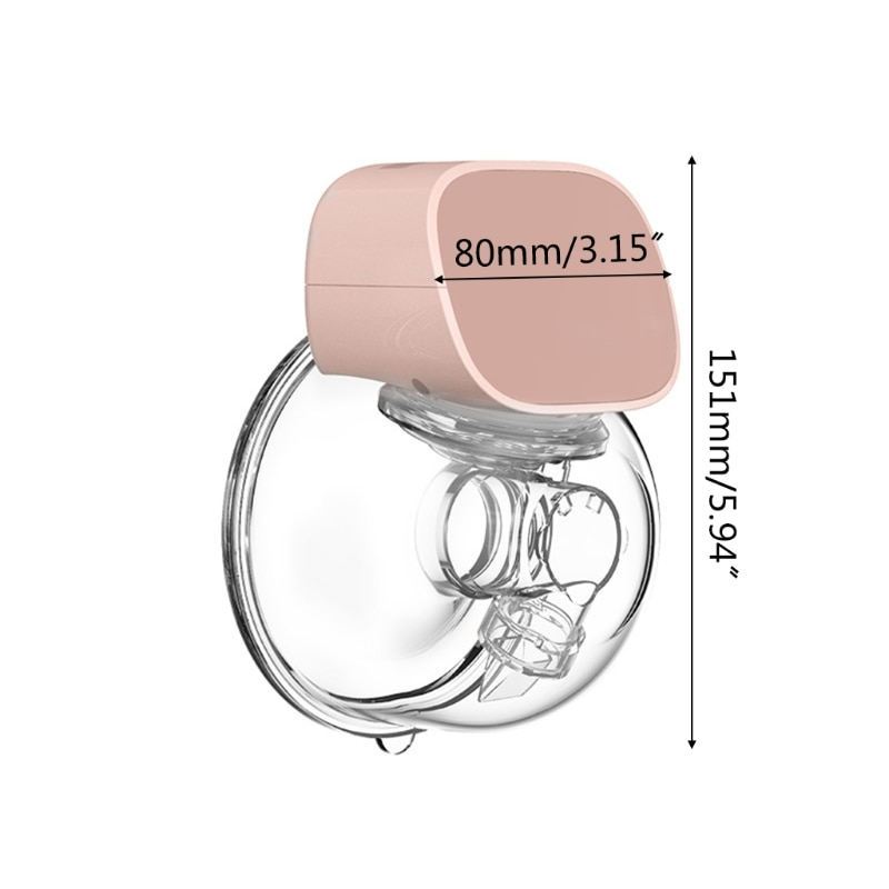 USB Rechargable Hands-Free Electric Breast Pump Silent Wearable Automatic Milker Portable Baby Breastfeed Milk Extractor enlarge