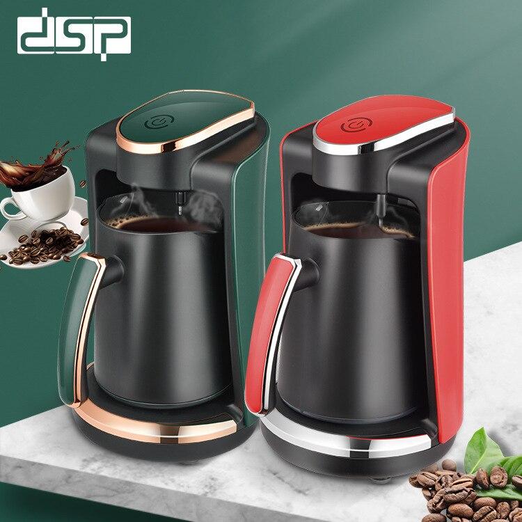 ماكينة صنع القهوة الكهربائية الصغيرة سعة 250 مللي ، وعاء قهوة تركي محمول ، ماكينة مطبخ منزلية بقدرة 400 وات