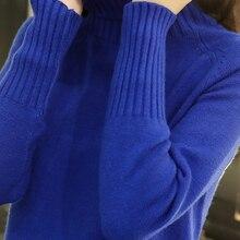 Disappearancelove Knitted Sweater Women Autumn Winter Korean Cashmere Turtleneck Long Sleeve Pullove