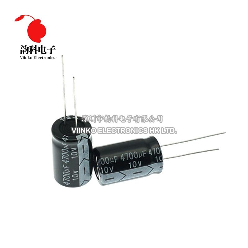 10V DIP Aluminium-elektrolytkondensator 100UF 220UF 330UF 470UF 680UF 100 0UF 2200UF 3300UF 4700UF 100 00UF