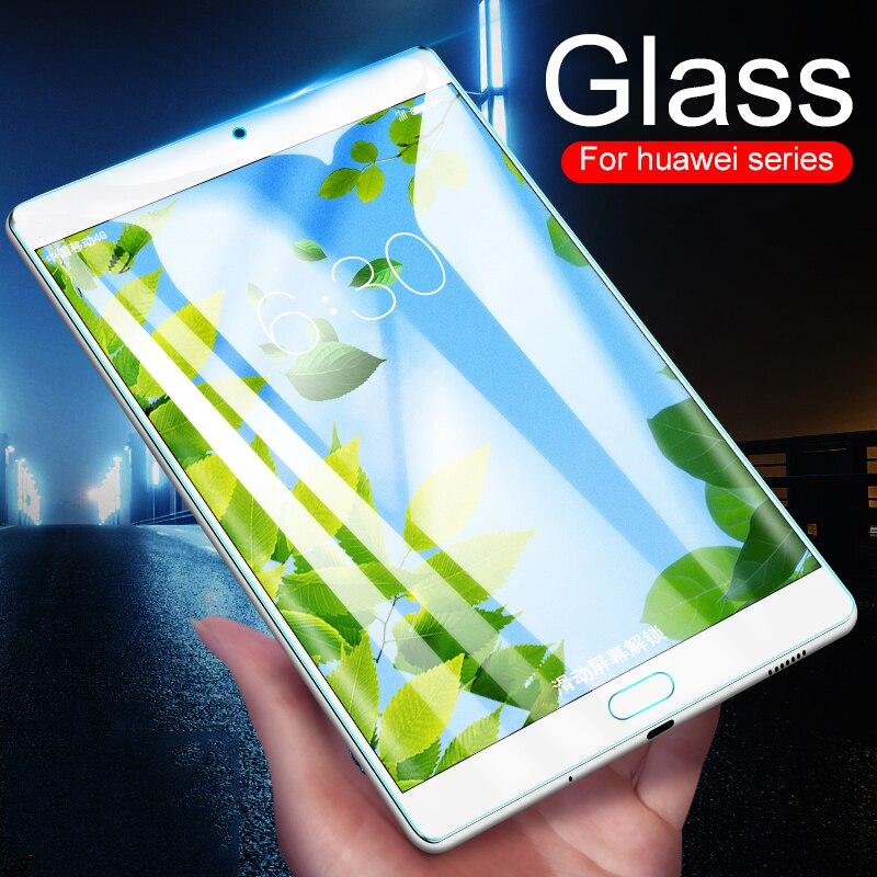 Протектор экрана планшета для Huawei MediaPad M5 Pro 10,8 ''8,4 Lite 10,1 8 закаленное стекло Медиа Pad T3 7 8 10 дюймов Wifi 4G СТЕКЛО