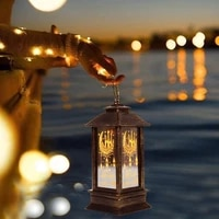 ramadan small wind lantern craft decoration tool bedroom courtyard replaceable battery lighting pp material t6d5