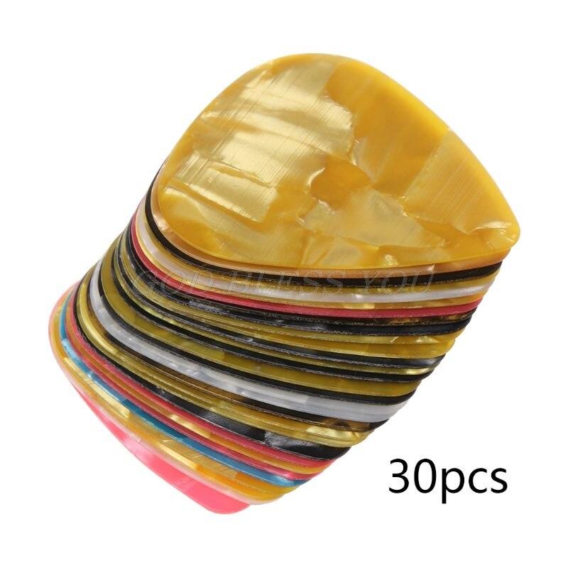 30 pçs ultra fino fino plástico guitarra picaretas para iphone pry ferramenta de abertura do telefone móvel portátil reparação ferramentas manuais kit transporte da gota