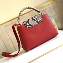 2020 Import Genuine leather luxury Fashion handbags designer women bag High quality bag women Europe