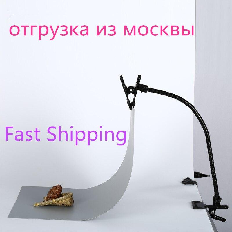 Nuevo soporte de fondo C abrazadera Clip Cámara foto estudio accesorios soporte...