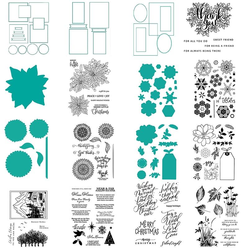 Agradecido verde mano letras sentimientos sellos de Navidad o maestro diseños de...