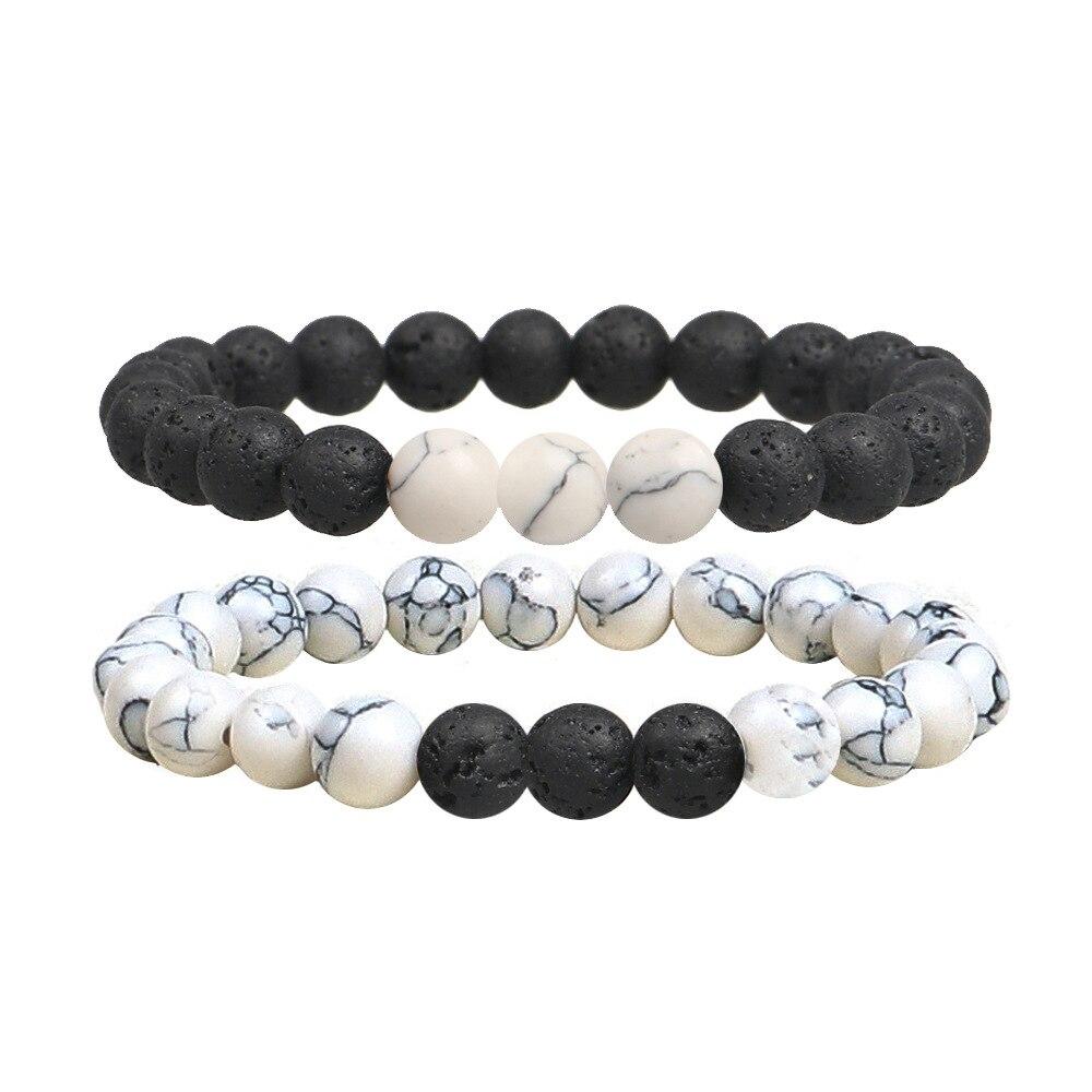 Купить с кэшбэком Charm Tiger Eye Beads Bracelets for Women Health Blance Natural Stone Stretch Bracelet Men Fashion Jewelry Pulsera Hombre Gift