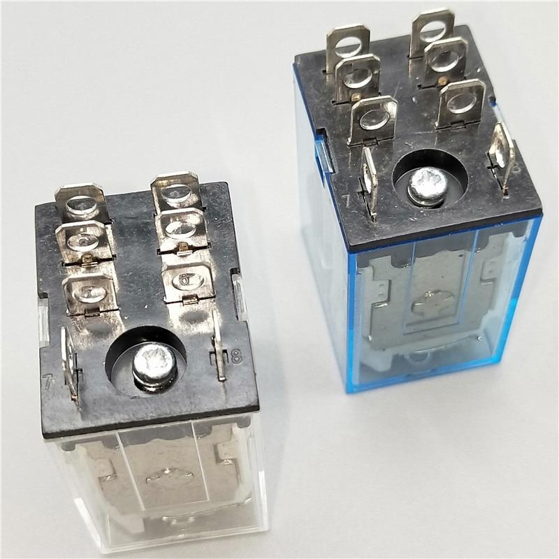 Minirelé LY2NJ bobina DC12V DC24V AC110V AC220V HH62P JQX-13F10A 220V miniatura electromagnética relé de propósito General