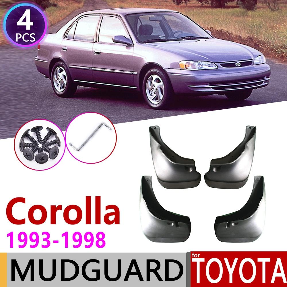 Guardabarros de coche para Toyota Corolla AE100 E100 1993 ~ 1998 guardabarros protección contra salpicaduras accesorios 1994 1995 1996 1997 7th