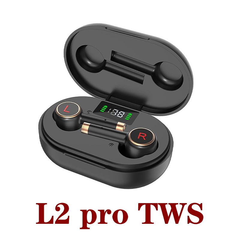 L2 Pro TWS Kopfhörer Drahtlose Bluetooth 5,1 Kopfhörer Mini Earbuds Mit Mic Lade Box Sport Headset Für Smart Telefon