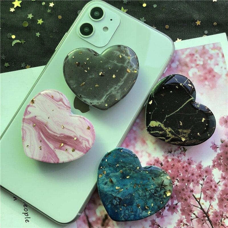 Soporte Universal para tableta, ipad, smartphones, iphone, samsung, huawei con forma de corazón, soporte de mármol, 30 unidades