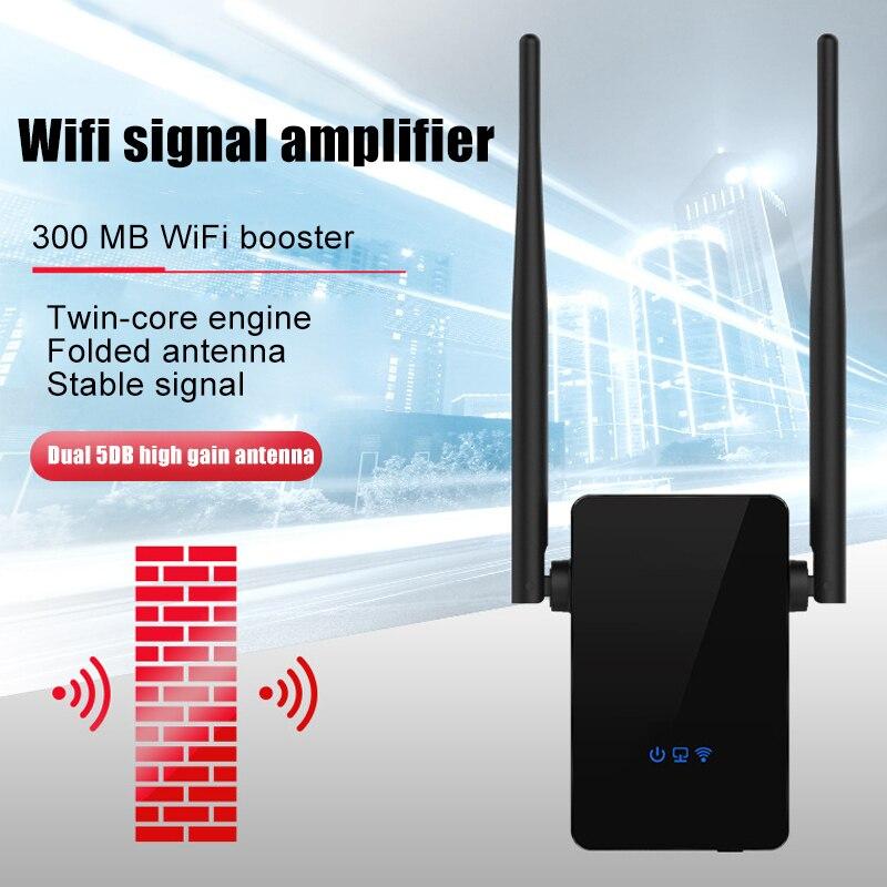 Repetidor de Internet LHB99 extensor amplificador de redes inalámbricas de 300Mbps Rango de señal WiFi