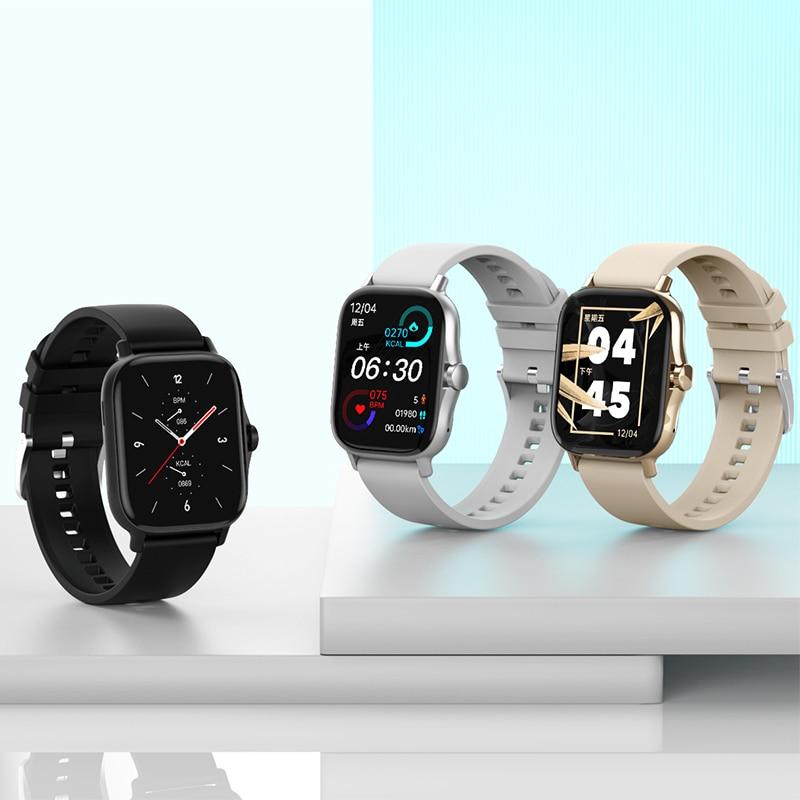 DW11 Smart Watch Women's Wristwatch Bluetooth Call Men's Watches Smartwatch 2021 Heart Rate Sleep Monitor Bracelet Smart Clock