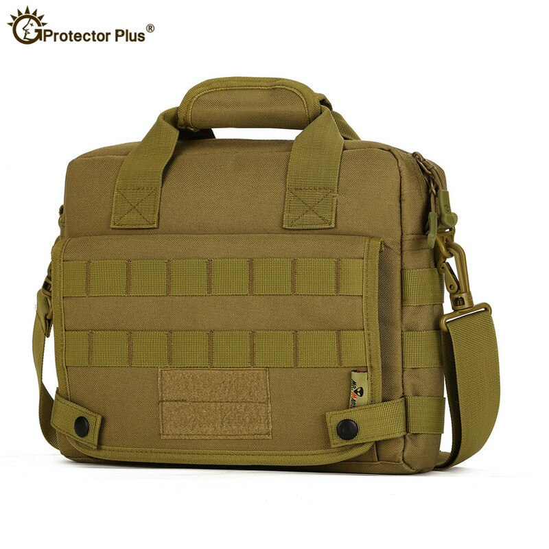Bolso de camuflaje militar táctico de 10 pulgadas, IPad 4, impermeable, Nylon, hombro, pesca, Crossbody, bolso de mensajero deportivo, bolso del ejército