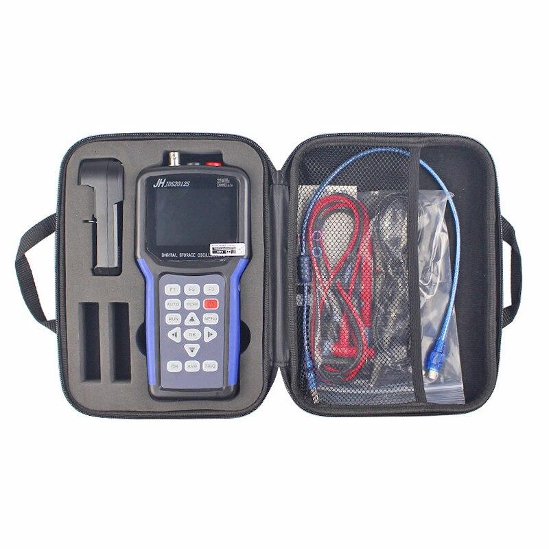 Generador portátil de ondas + kit de osciloscopio Digital profesional JDS2012S, 1 canal USB, 25MHz, 200MSA/s, medidas de diodo