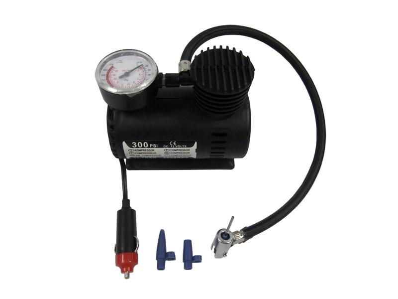 Inflador inflable de 300psi automático portátil DC 12V Auto bicicleta MotorByck neumático bomba de aire compresor de presión