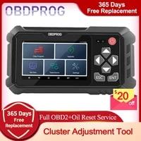 obdprog m500 obd2 car cluster calibration professional oil reset code reader obd 2 scanner clusters adjustment diagnostic tool