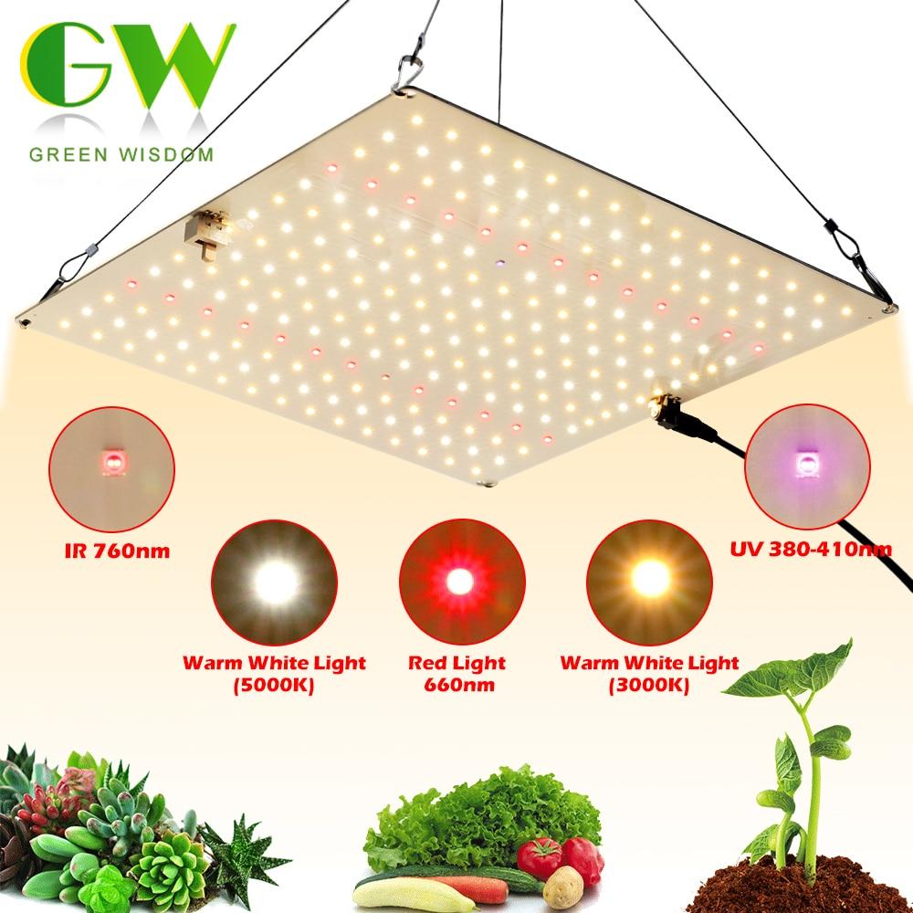 Samsung LM281B Quantum LED Grow Light UV&IR Chip 650W Full Spectrum Phyto Lamp for Indoor Plants Veg Flowers Hydroponics System