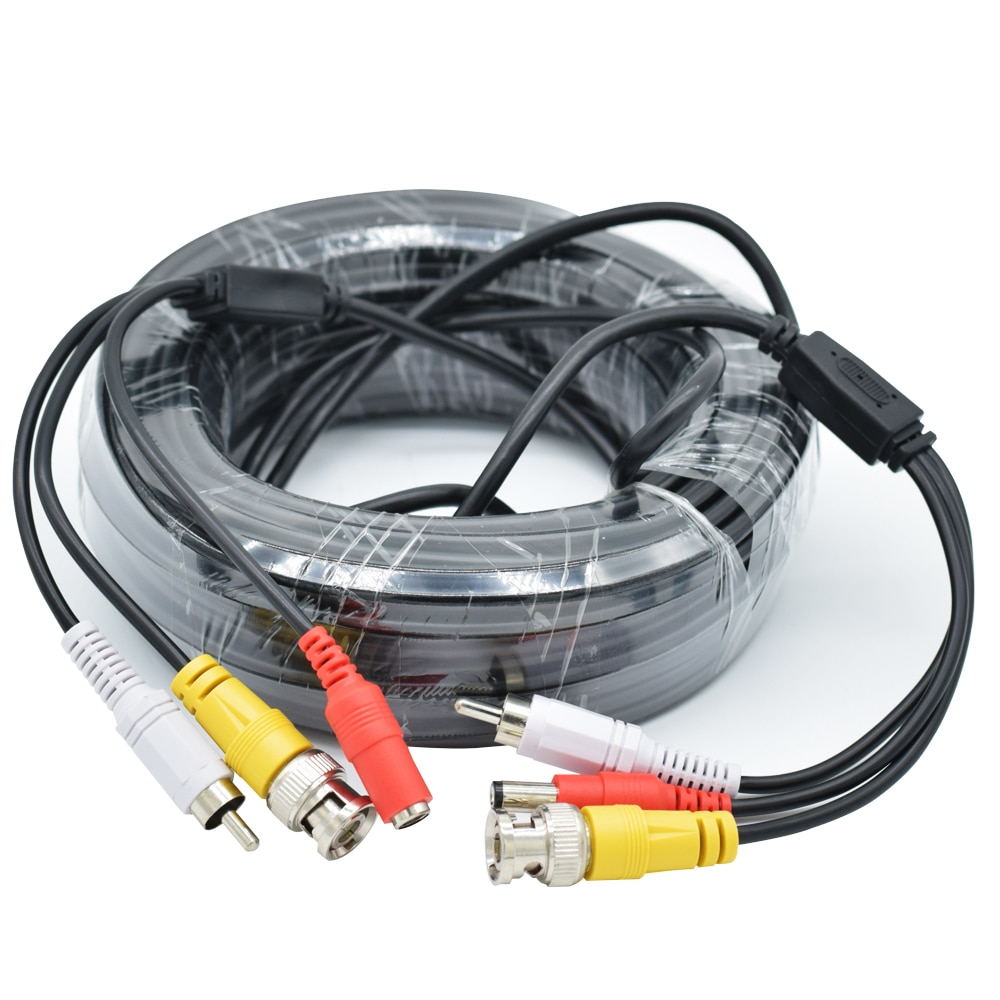 AHD Camers Cable Video Audio Power 3 IN 1 CCTV BNC Cable for AHD CCTV DVR Surveillance System enlarge