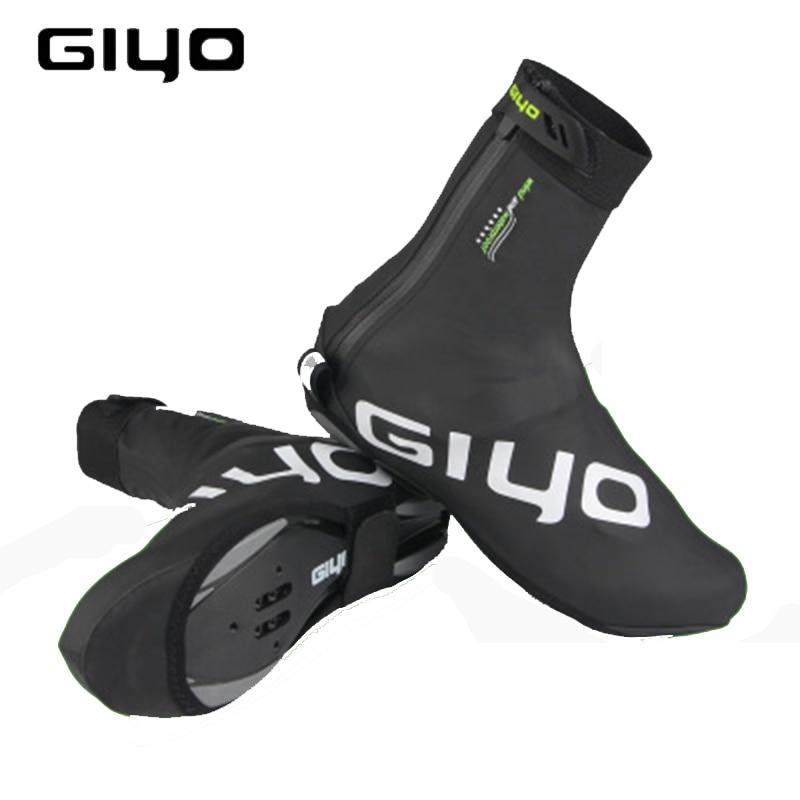 Cycling Overshoes Waterproof Shoes Covers Winter Fleece Warm Reflective for Bike Lock Shoe Bike Shoe Cover Protector