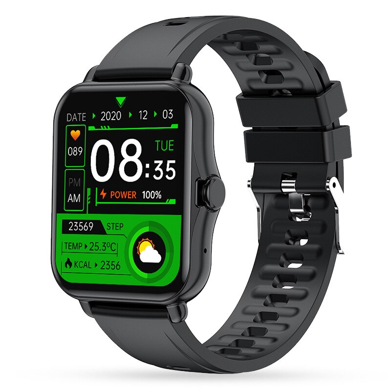 Smart Watch Men Fitness Sport Music Waterproof Heart Rate Blood Pressure Monitoring Smartwatch Stopw