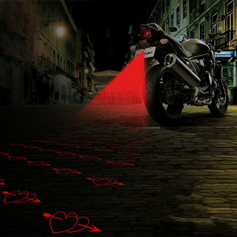 YOSOLO Auto Nebel Licht Laser Nebel Anti-kollision Auto Motorrad Dekorative Licht