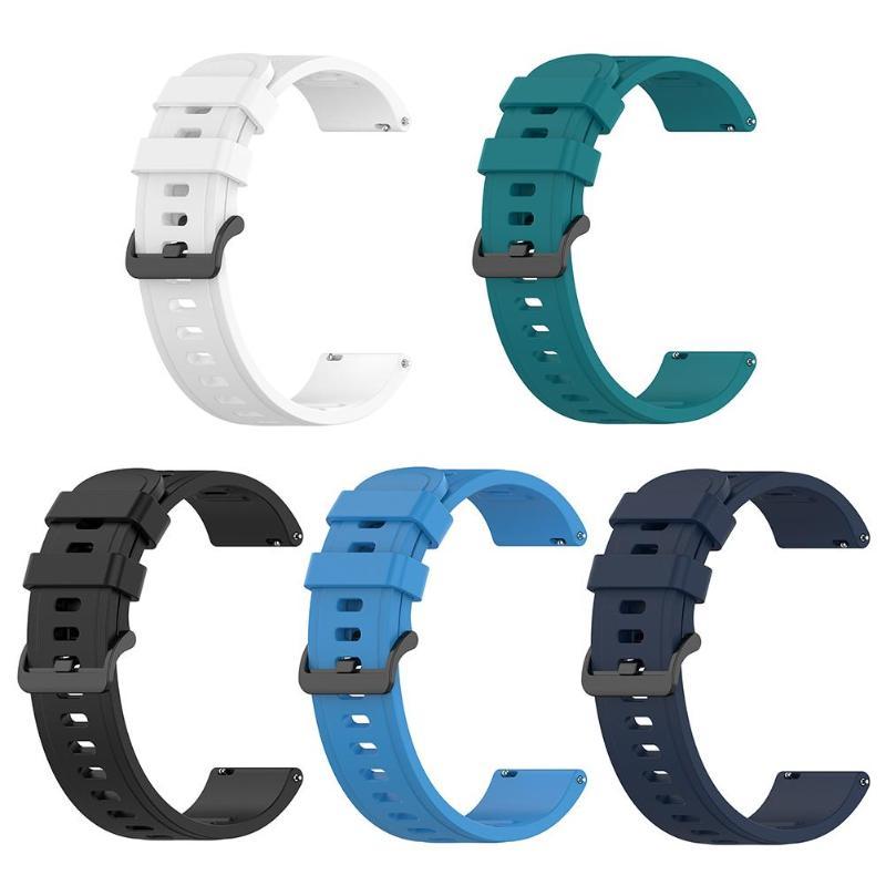20mm silicona reloj de correa para la muñeca para Amazfit GTR 42mm Amazfit GTS/Amazfit BIP Lite para Amazfit salud reloj